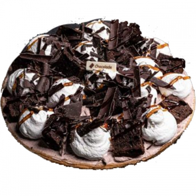Brownie vlaai